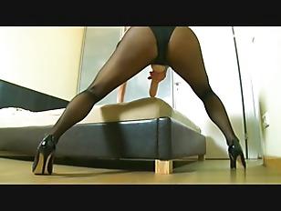Picture Hot Brunette Slut Play Dildo