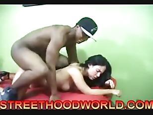Street hood world ebony threesome mobile porno