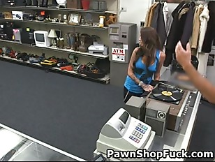 Picture Tattooed Brunette Sucking Dick Behind Pawn S...