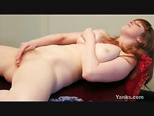 Busty Redhead Chloe Fingering...