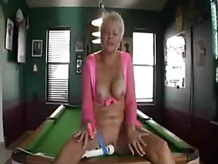 Picture Mature Plays With Her Toys