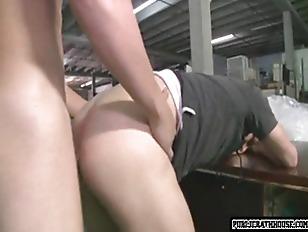 Horny Dudes Fucking At...