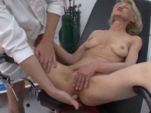 Picture Granny Gets Her Injection At The Doctors
