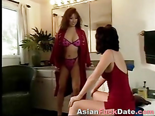 Exotic Asian Lady Seduced...