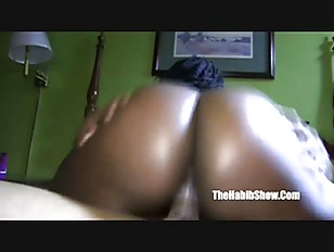 Chocolate bbw fucked n...