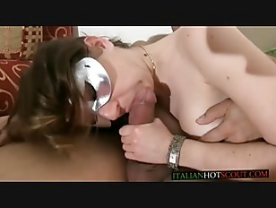 Horny Masked Brunette is...