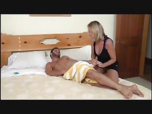 Mom Helps Sunburned Son