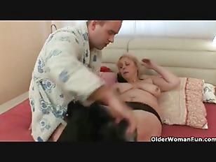 Older granny anal