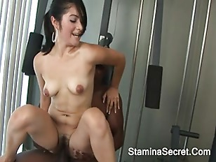 Interracial Threesome With Andrea...