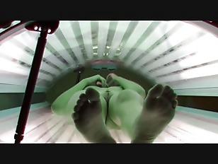 Picture Self Fingering In Solarium Room