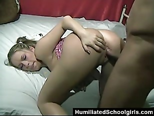 Picture Punished For Sticking Candy In Her Pussy