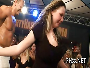 Picture Blonde Cute Waiter Leaking Puss