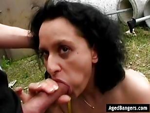 Busty Mature Mom Enjoying...