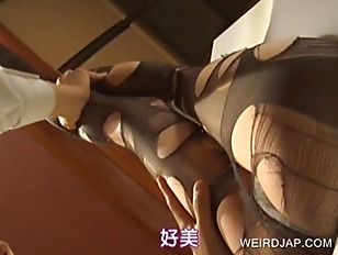 Japanese Getting Feet Licked...