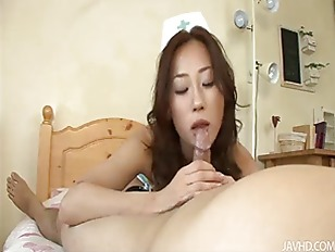 Picture Horny Yuu Uehara Shows Off Her Cock Sucking...