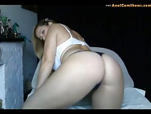 Teen strip tease for her boyfriend