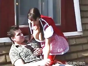 Bondage redhead German teen