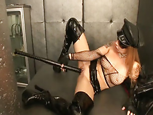 Picture Tattooed Kinky Blonde Diva Solo Pussy Play