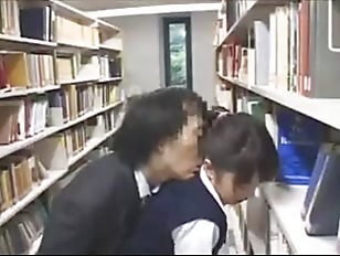 Groping in library