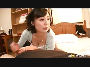 Picture Classy Japanese Babe Give Hot Handjob