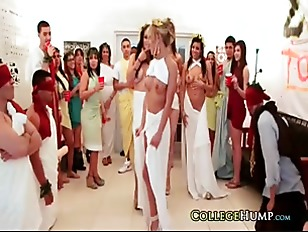 College Toga Party Orgy...