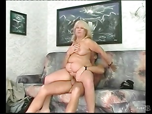 Granny Rides Young Buck...