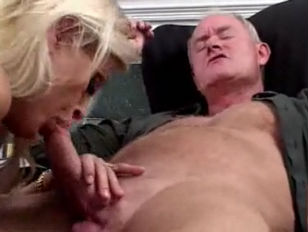 Blonde Sucks Her Uncles...