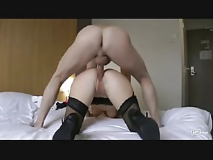 Picture Blonde French Girl In Stockings Is Licked Th...
