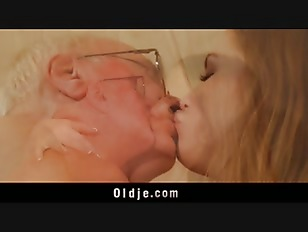 Picture Old Man Fucks Young Blonde Masseuse Cums In...