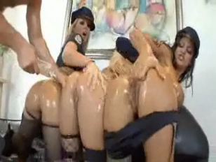 Picture Manuel Ferrara And Oily Policewomen