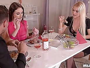 Horny Milf Dinner With...