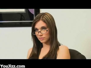 Dakoda Brookes Sexy Brunette with Glasses