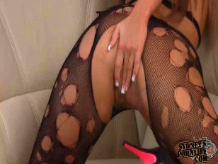 Picture FUCKING IN RIPPED BODYSTOCKING
