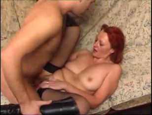 Redhead Mature and Younger...