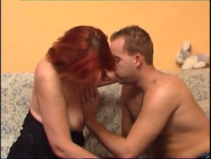 Picture Redhead Mature and Younger Man