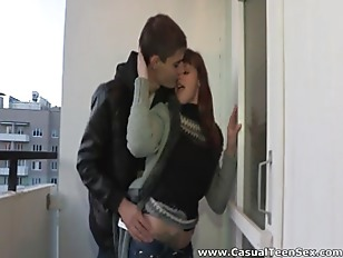Picture Hot Casual Fuck In A Hallway
