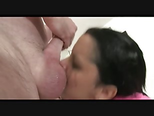 Busty latina dk sloppy deepthroat blowjob 6