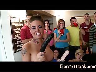 Cherry Popping Dorm Attack...