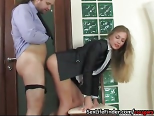 Office Action Sexy Cougar...