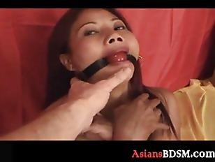 Asian Hottie Here Tied...