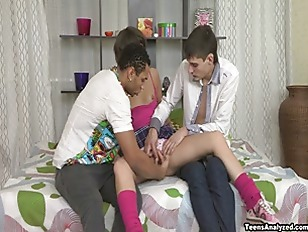 Teens Analyzed - Interracial anal...