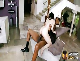 Picture Tight White Young Girl 18+ Celebrates Black...