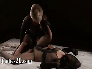 Picture Panty Suits Performed By Two Girl2girl