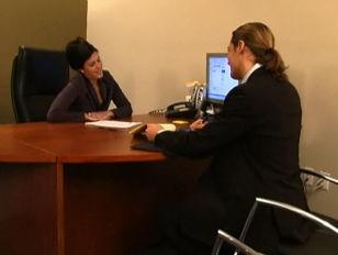 Nikki Loren Hot Office...