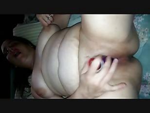 Hefty MILF Pleasing Her...
