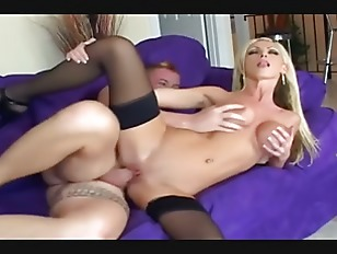Leggy Blonde Fucked On...