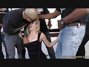 Cherie DeVille Gets Gangbanged...