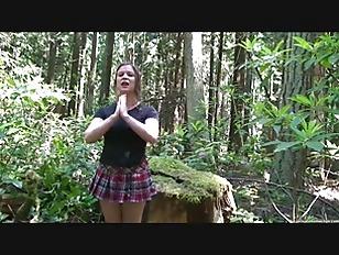 Cheerleader in the Woods - Erin Electra  ElectraChrist