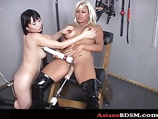 Sex Slaves In Bondage With Sex Machine