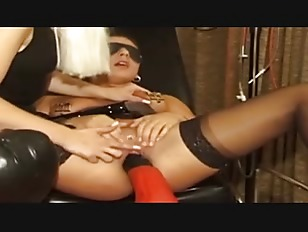Picture Latex Mistresses Fuck One Slave After The Ot...